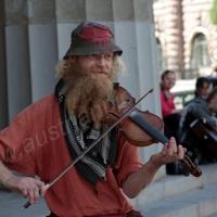 Strassenmusikant, Stockholm