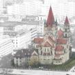 Church, Kirche, Wien, Vienna, Franz von Assisi Kirche, Leopoldstadt, Mexicoplatz