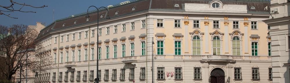 Wien, Vienna, Österreich, Austria, Bundeskanzleramt, Regierungsviertel, Ballhausplatz