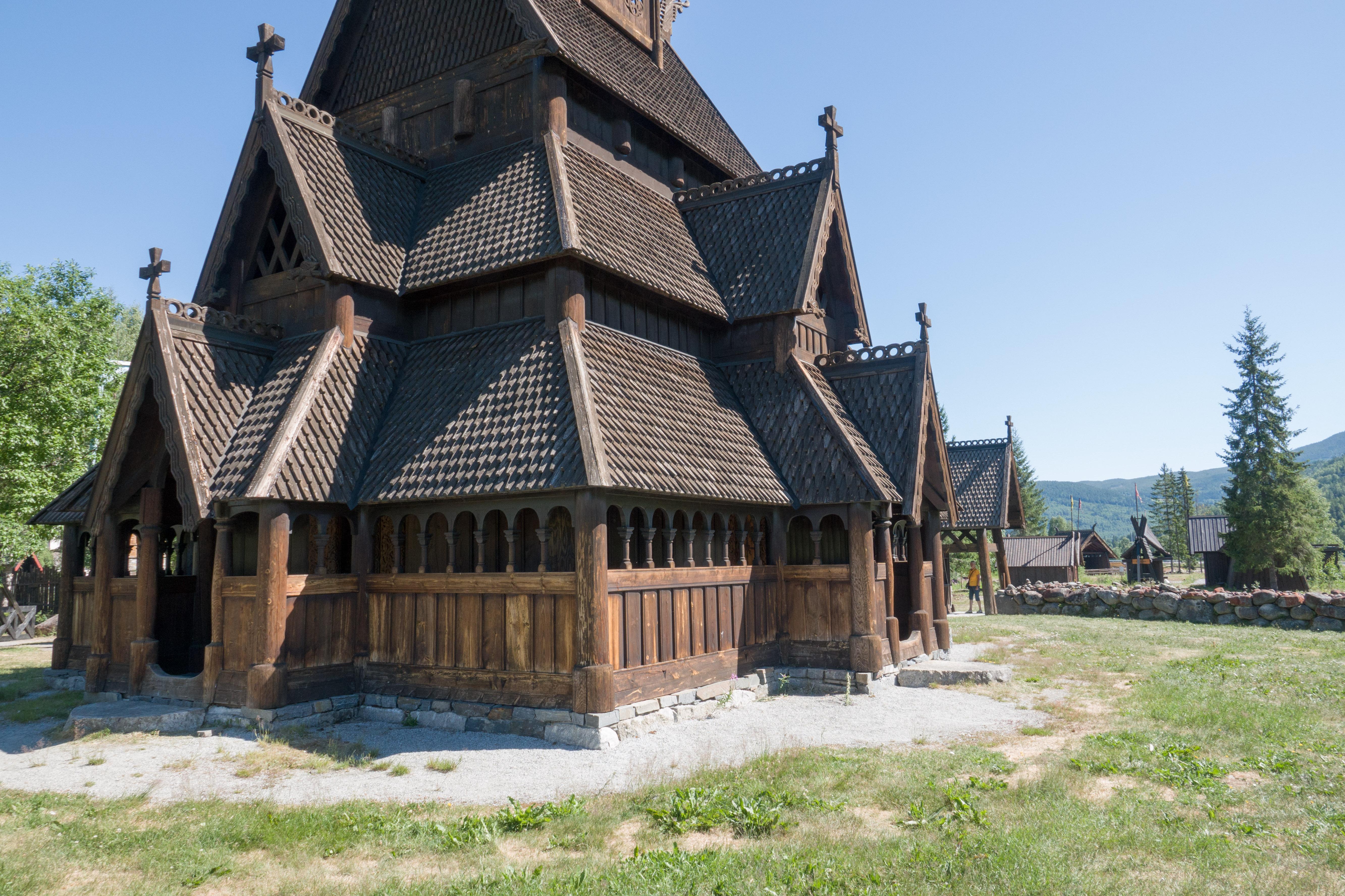 Gol stavkirke, Stabkirche von Gol, Norway_02