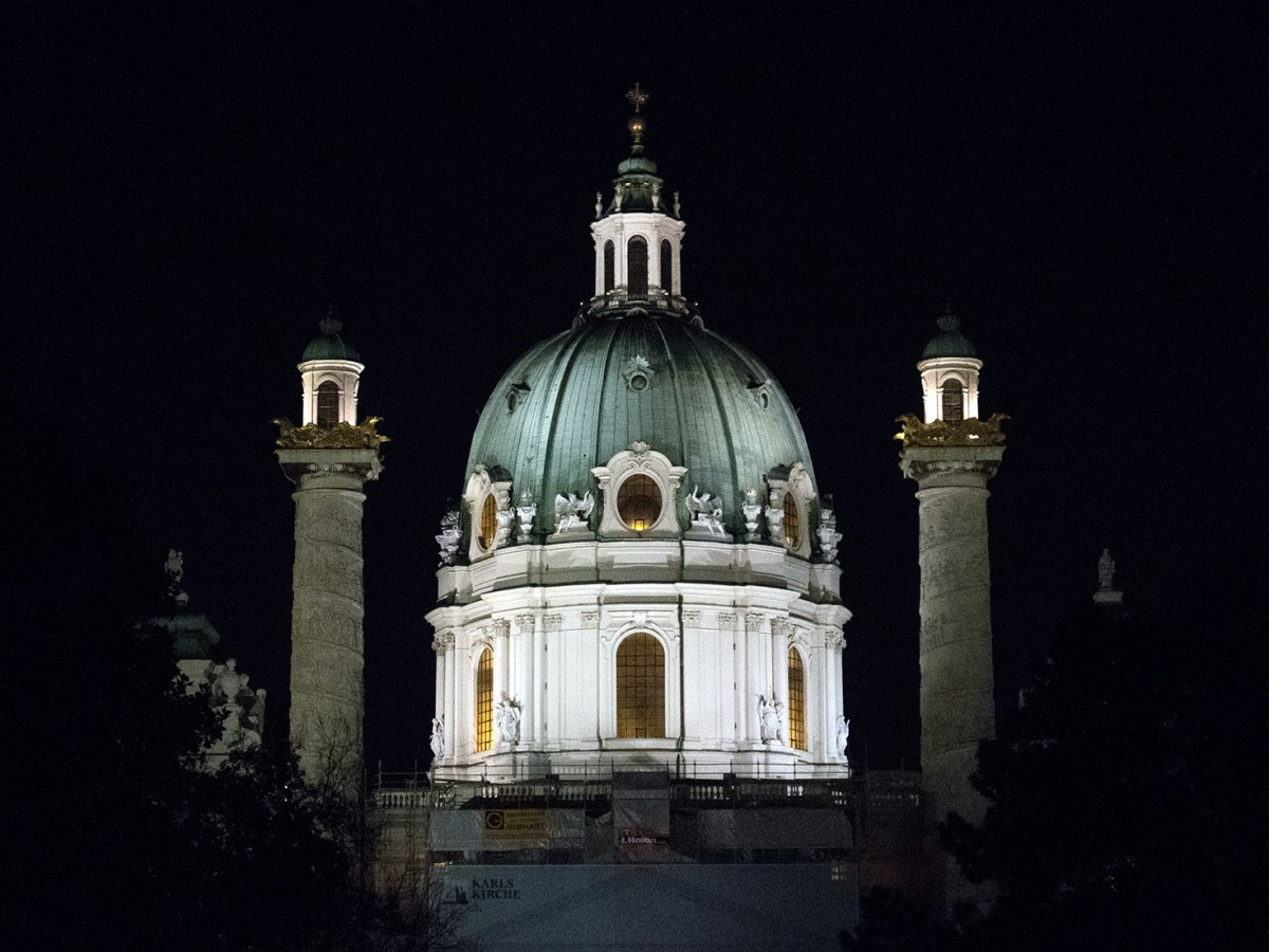 Karlskirche, Wien, Vienna, Austria