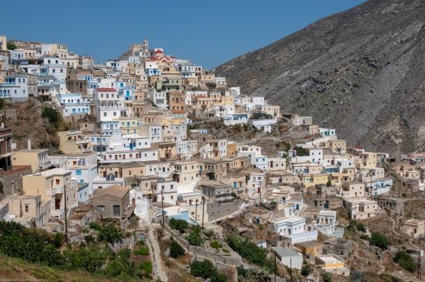 Olympos, Karpathos, Dodekanes. Greece