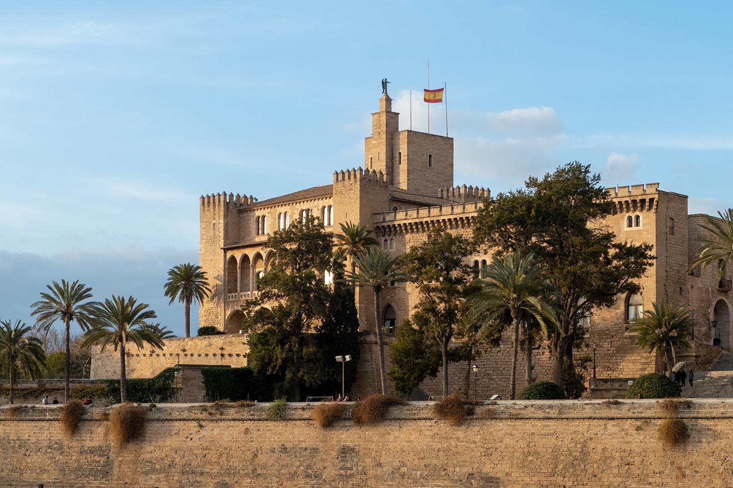 Palau Reial de L'Almudaina, Palma de Mallorca, Spain