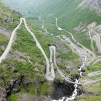 Trollstigen, the road to Geiranger, Norway