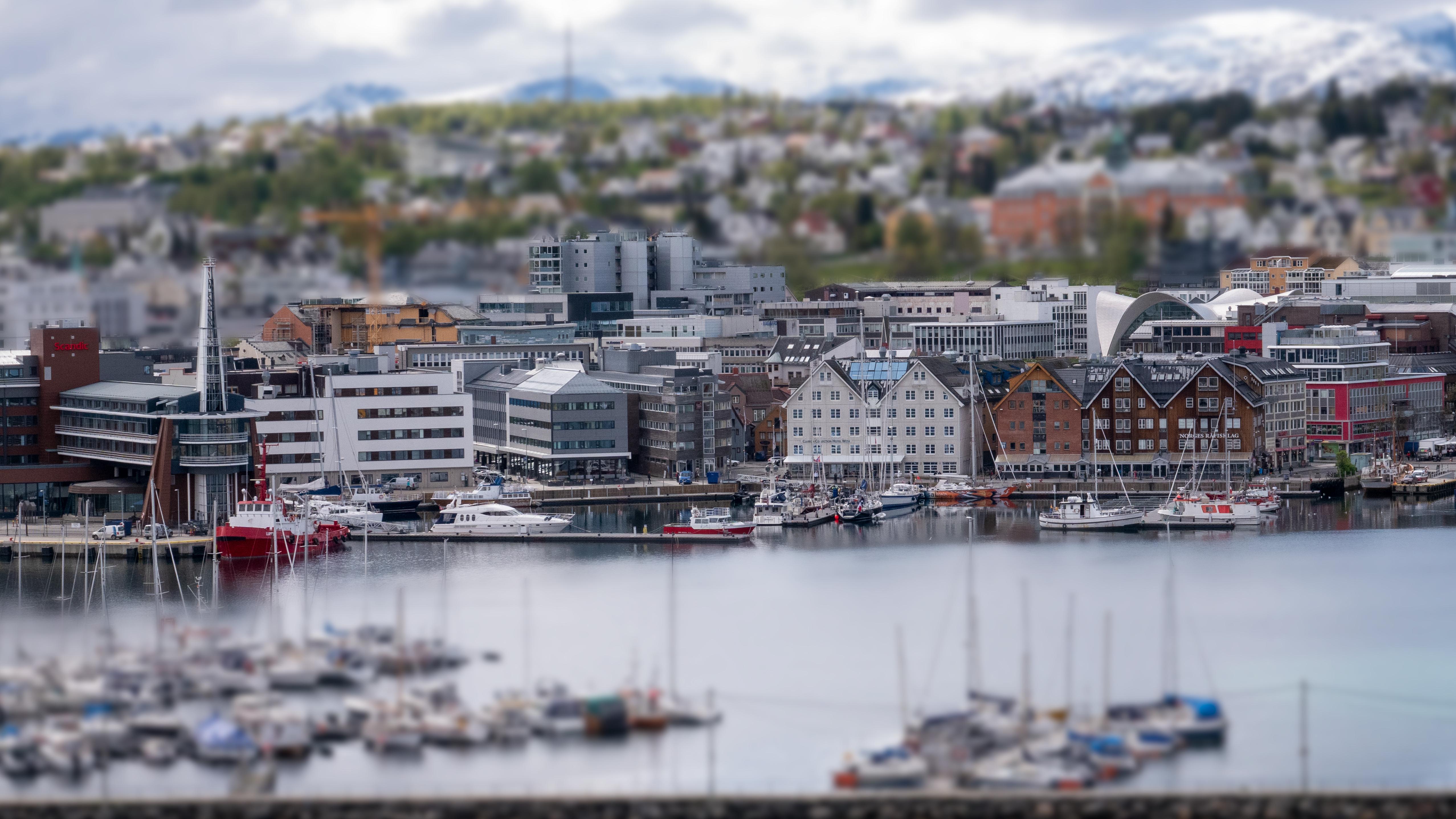 Tromsø, Norway (Miniature Scene)
