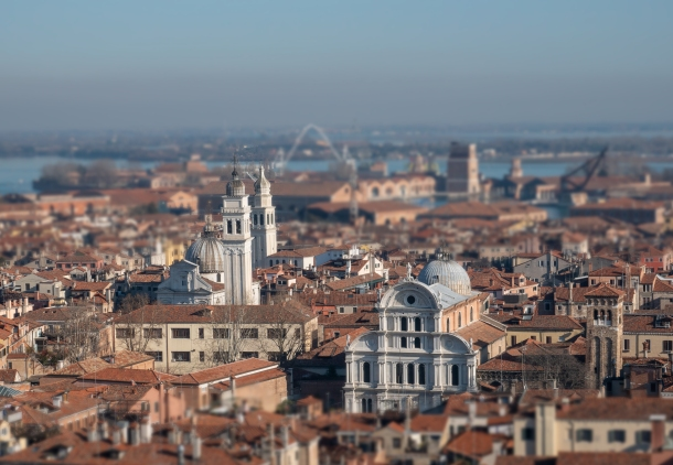 Venezia, View from the Campanile (Miniature Scene)