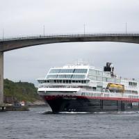 Kristiansund, Sørsundbrua, Hurtigruten, Norway