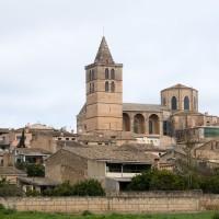 Iglesia Santa Maria de Sineu, Mallorca, Balearic Islands, Spain
