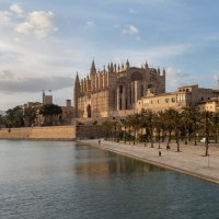 Kathedrale La Seu Palma de Mallorca, Balearic Islands, Spain,